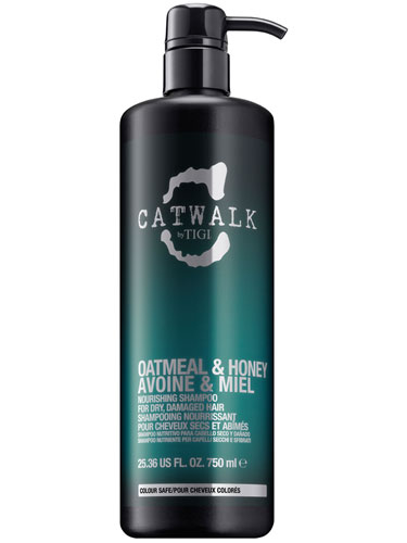 TIGI Catwalk Oatmeal and Honey Nourishing Shampoo (750ml)