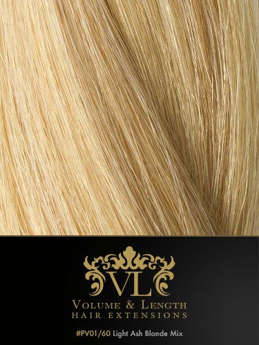 VLII Weft / Weave Remy Hair Extensions #V01/60 16 inch 50g