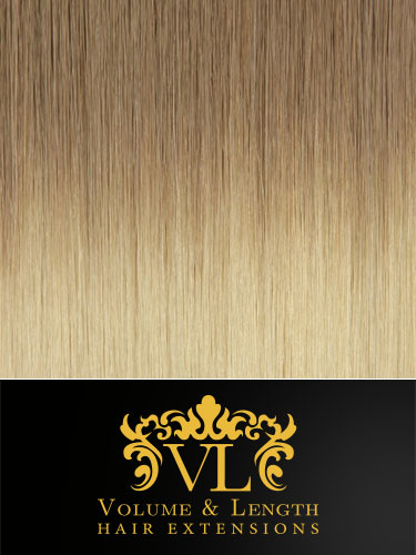 VL Remy Weft Human Hair Extensions #T10/24 18 inch 100g