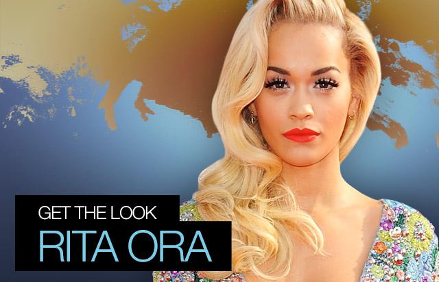 get the look - rita ora