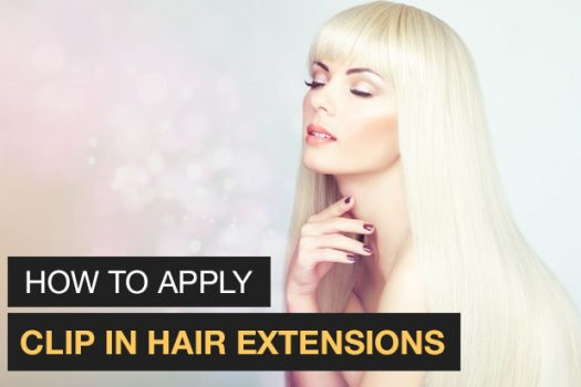 Tutorial: How to apply clip in hair extensions