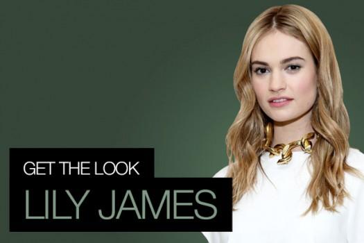 Get The Look: Lily James, BAFTAs Special