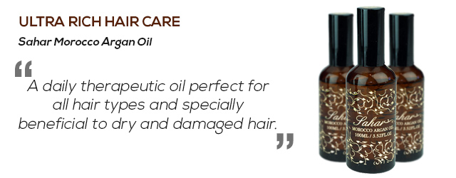 Ultra rich hair care with hair oil