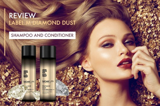 Label.m Diamond Dust Shampoo & Conditioner Review