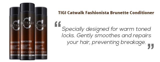 Tigi Catwalk Fashionista Brunette Conditioner