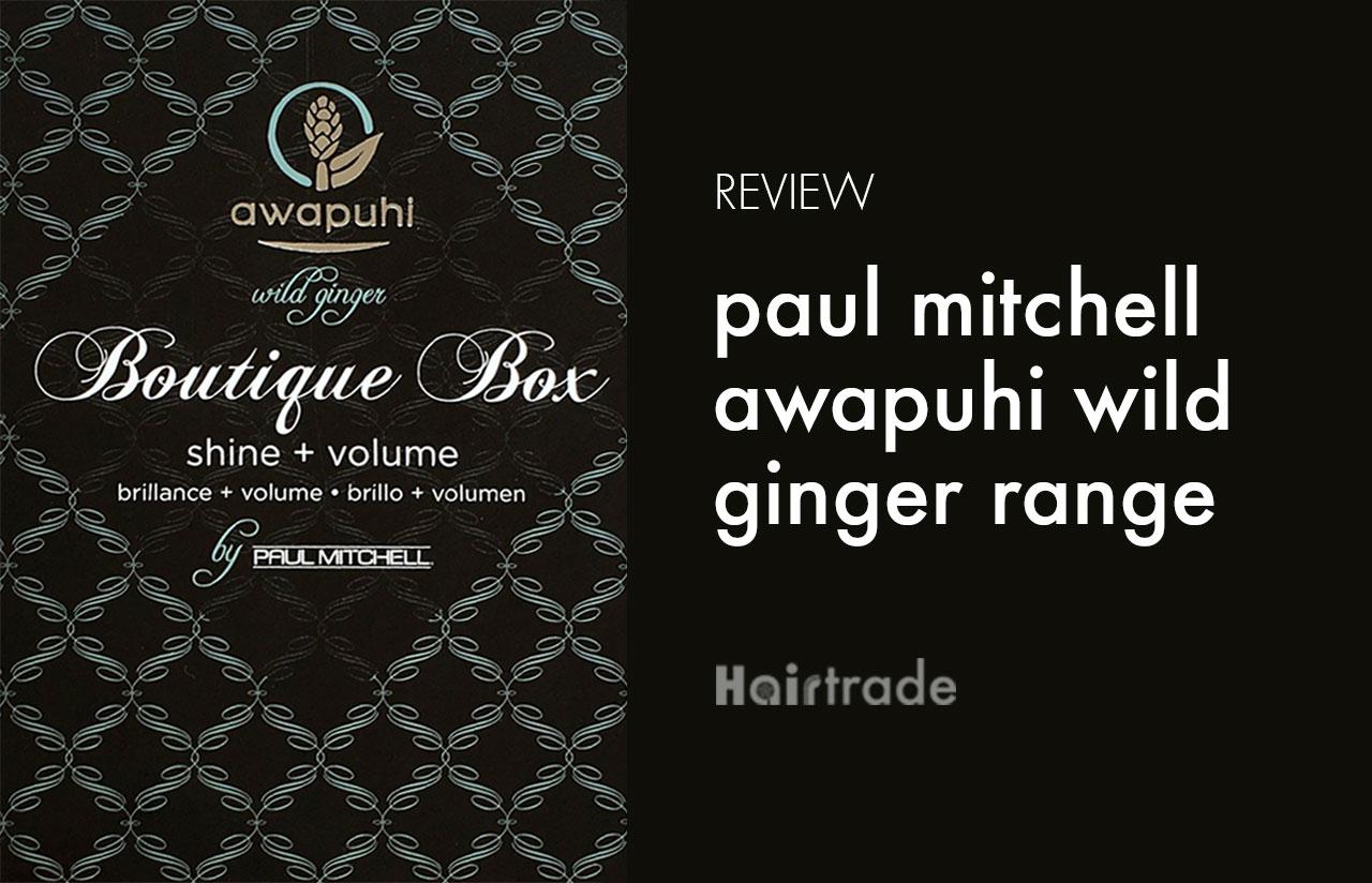 Paul Mitchell Awapuhi Botique Box