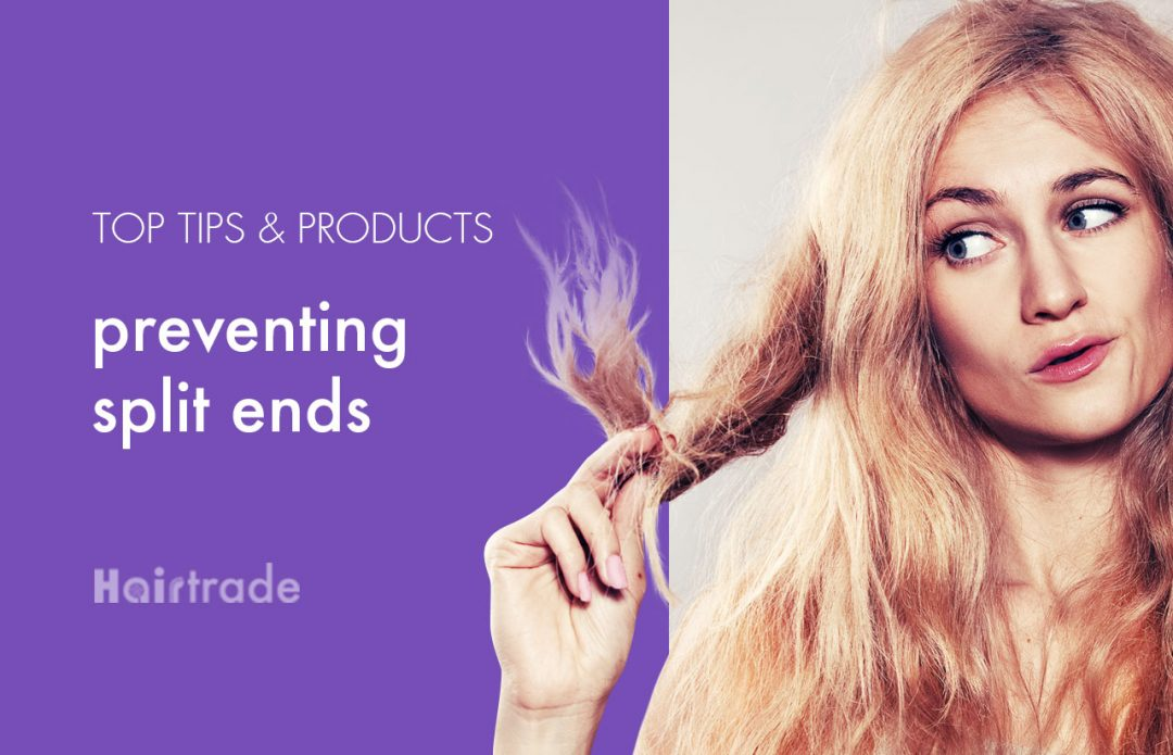 Top tips and products for preventing split ends