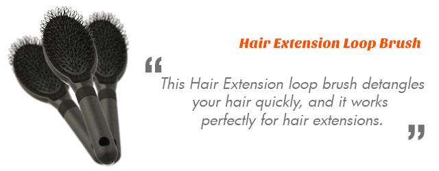 Hair Extension Loop Brush
