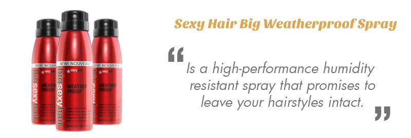 Sexy Hair Big Weatherproof Anti Humidity Spray
