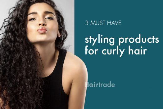 3 Must Have Styling Products for Curly Hair
