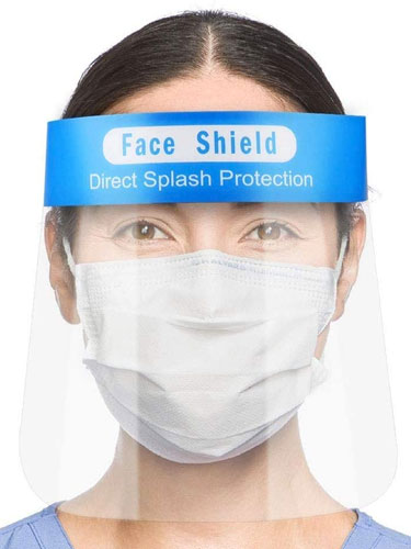 Medical Face Shield X 5