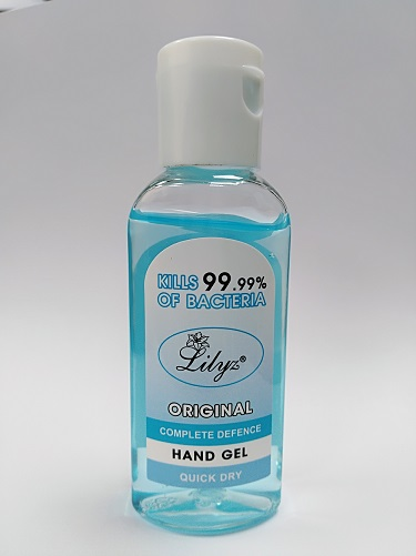 Antibacterial Hand Sanitiser Kill 99.99 Bacteria 50ml 70% Alcohol