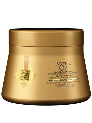 L'Oreal Professionnel Mythic Oil Masque - Normal to Fine (200ml)
