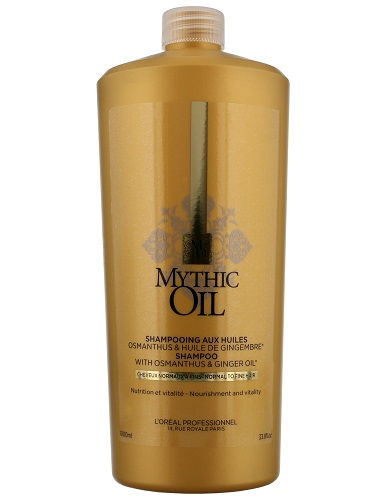 L'Oreal Professionnel Mythic Oil Shampoo for Normal to Fine 1000ml