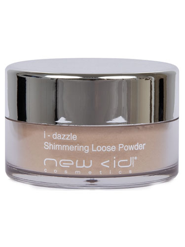 New CID I-Dazzle Shimmering Loose Powder (Gold Pearl)