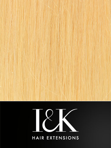I&K Clip In Human Hair Fringe - Bold & Blunt #22-Medium Blonde