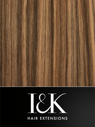 I&K Clip In Human Hair Fringe - Side Swept