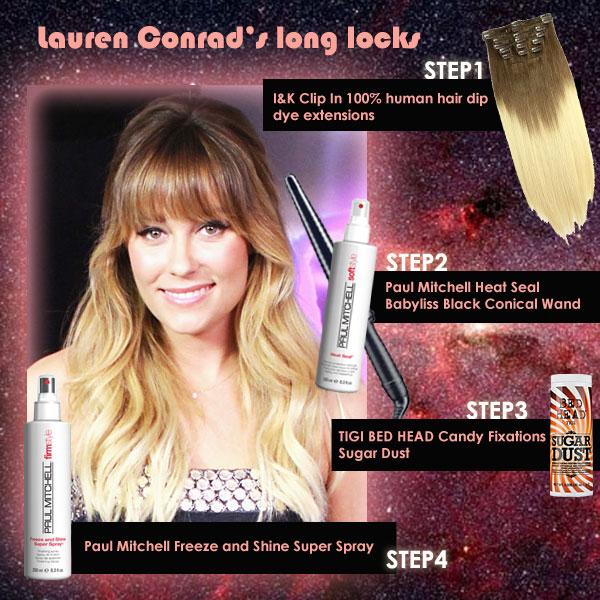 Lauren Conrads Long Locks