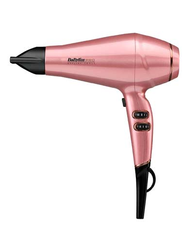 Babyliss Pro Keratin Lustre Hair Dryer Pink Blush
