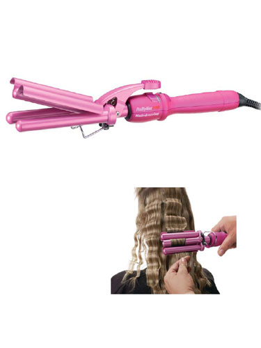Babyliss Pro Triple Barrel Waver (Pink)