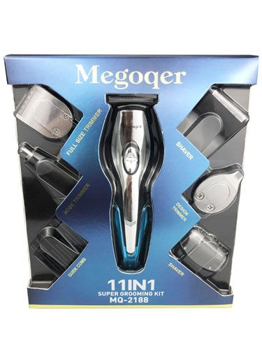 Professional Cordless Rechargeable 11 in 1 Electric Men Grooming Clippers and Trimmer Set