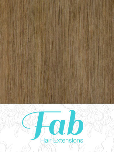 Fab Clip In Remy Hair Extensions - Full Head #18-Ash Blonde 24 inch