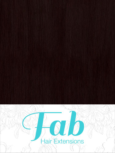Fab Clip In Remy Hair Extensions - Full Head #32-Dark Reddish Wine 26 inch