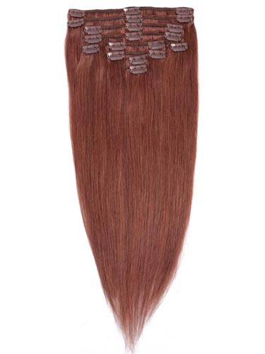 Fab Clip In Remy Hair Extensions - Full Head