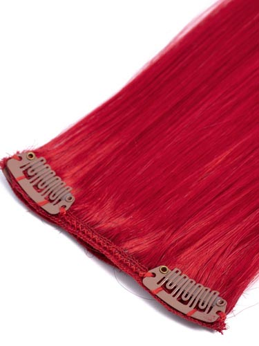 Fab Clip In Remy Hair Extensions - Full Head #Red 15 inch