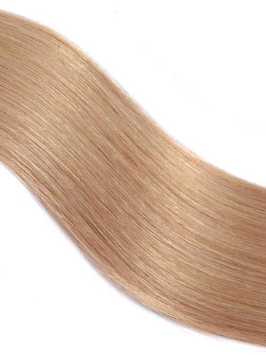 Fab Clip In Lace Weft Remy Hair Extensions (140g) #27-Strawberry Blonde 20 inch