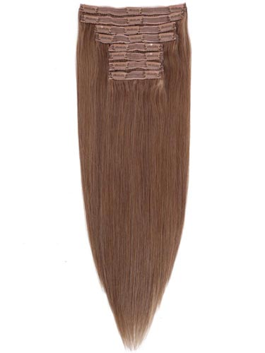 Fab Clip In Lace Weft Remy Hair Extensions (140g)