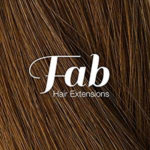 Fab Clip In One Piece Synthetic Hair Extensions - Loose Waves #27-Strawberry Blonde