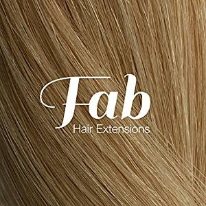 Fab Clip In One Piece Synthetic Hair Extensions - Loose Waves #p60/12