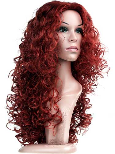 Fab Abbie Natural Tight Corkscrew Curls Wig #137