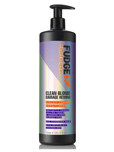 Fudge Clean Blonde Damage Rewind Conditioner (1000ml)