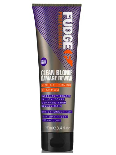Fudge Clean Blonde Damage Rewind Shampoo (250ml)