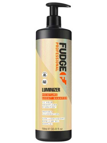 Fudge Luminizer Moisture Boost Shampoo 1000ml