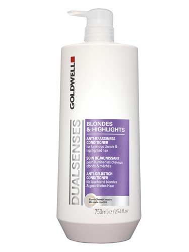 Goldwell Dualsenses Blondes and Highlights Anti-Brassiness Conditioner (750ml)