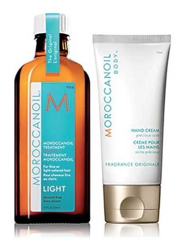 Moroccanoil Light Oil Treatment with free Hand Cream