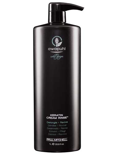 Paul Mitchell Awapuhi Wild Ginger Keratin Cream Rinse (1000ml)