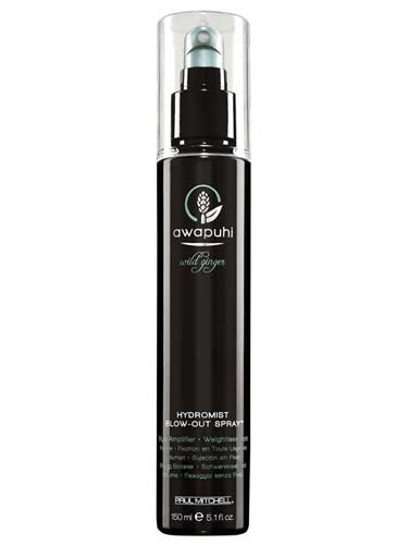 Paul Mitchell Awapuhi Wild Ginger HydroMist Blow Out Spray (150ml)
