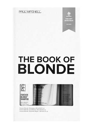 Paul Mitchell The Book of Blonde Gift Set