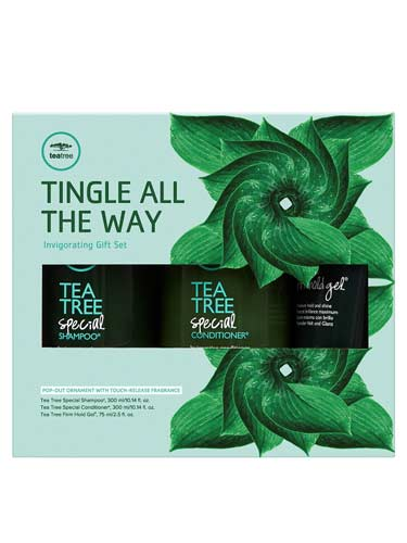Paul Mitchell Tingle All The Way Gift Set (Tea Tree)