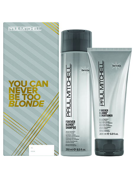 Paul Mitchell FOREVER BLONDE DUO Christmas Gift Pack