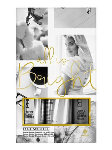 Paul Mitchell All is Bright Gift Set (Forever Blonde)