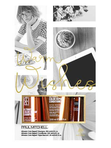 Paul Mitchell Warm Wishes Gift Set (Ultimate Color Repair)
