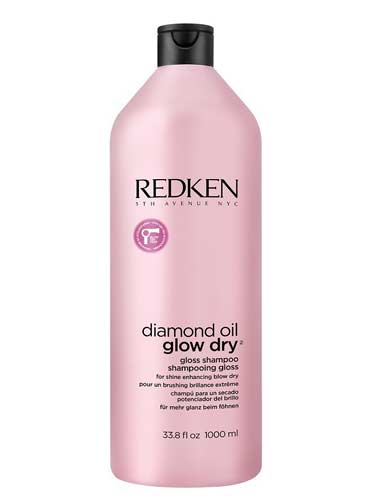 Redken Diamond Oil Glow Dry Shampoo (1000ml)