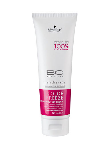 Schwarzkopf Professional Bonacure Color Freeze Thermo-Protect Cream (125ml)