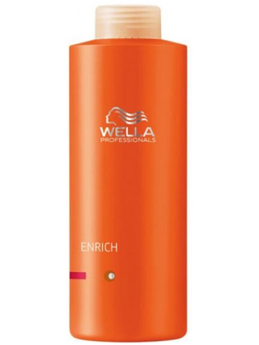 Wella Professionals Enrich Moisturising Conditioner for Coarse Hair (1000ml)