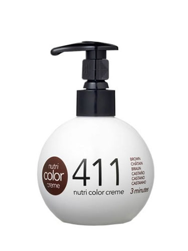 Revlon Nutri Color Creme 411 Cold Brown (250ml)